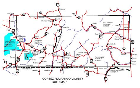 map of colorado gold colorado gold maps gold placers and gold panning and