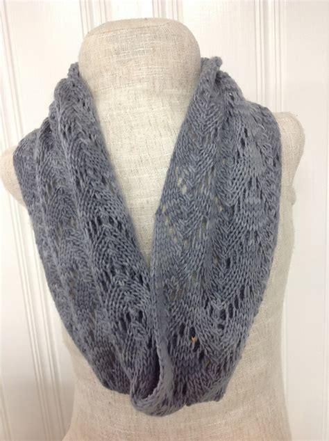 knit lace cowl pattern knitting patterns galore lace cowl