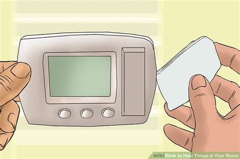 where to hide stuff in your room 3 ways to hide things in your room wikihow