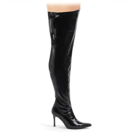 cheap s wide width thigh high boots with 3 3 4 inch