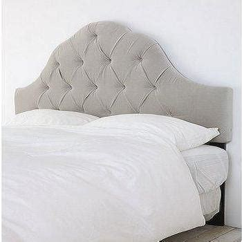 grey velvet tufted headboard bren headboard design by bd fine i burke decor