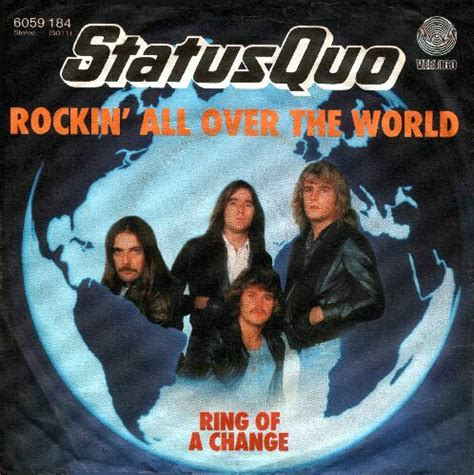 7 Who Are Rocking Their Single Status by Status Quo Ticker Discografie Rocking All The