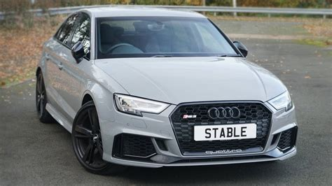nardo grey rs3 nardo grey audi rs3 saloon exterior interior