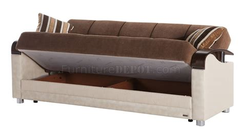 Luna Troya Brown Sofa Bed By Sunset W Options