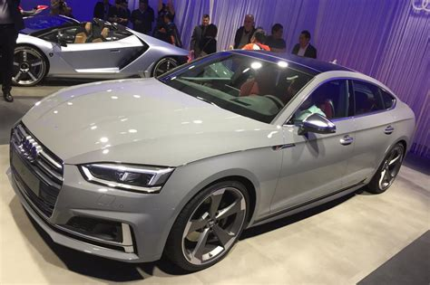 Audi A5 Panoramadach by New Audi A5 And S5 Sportback Official Pictures Auto