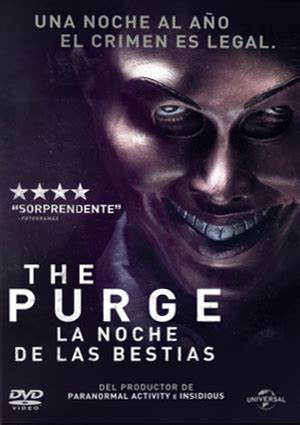 libro purge the purge la noche de las bestias dvd de james demonaco 8414906857989 comprar pel 237 cula