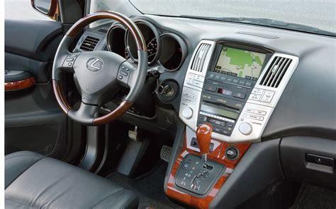 lexus rx 2008 interior 2007 hyundai verzcruz vs 2008 lexus rx350 head to head