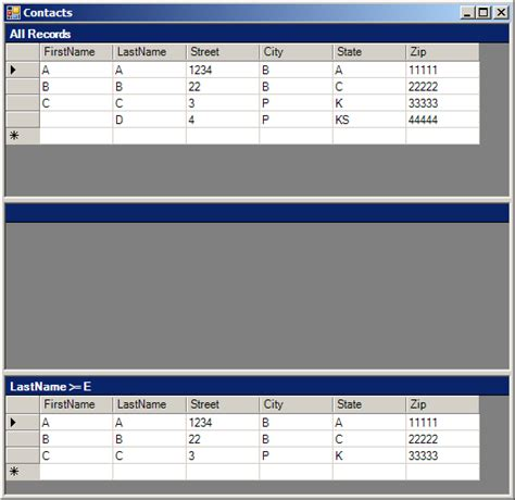 pattern matching vb net datatable 171 database ado net 171 vb net tutorial