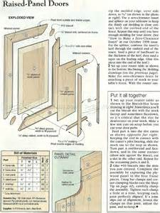 Free Router Table Plans by Making Raised Panel Doors Woodarchivist