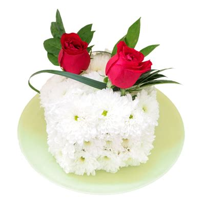 Singapore Florist Flower Gifts Shop Cake Shop Singapore | bcf 106 classic white cake flower delivery singapore