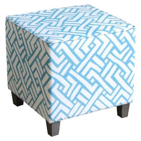 blue ottoman target threshold ottoman cube target