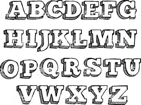 lettere alfabetiche funky lettre de lalphabet cliparts vectoriels et plus d