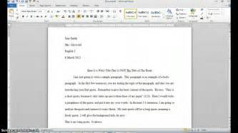 How To Cite An Essay In Mla by How To Cite A Quote In An Essay Mla Format