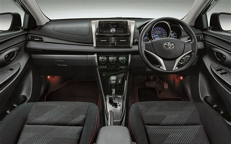 Dashboard Toyota Vios New toyota vios racing edition interior dashboard indian