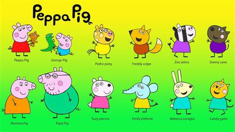 the colors of friendship a book about characters who become friends despite their differences books peppa pig coloring for coloring peppa pig friends