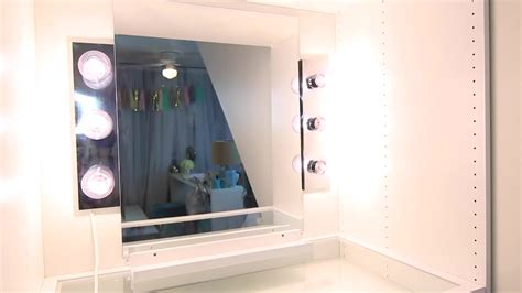 Bedroom: Using Best Lighted Makeup Mirror For Pretty Home