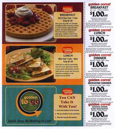 golden corral coupons december 2014