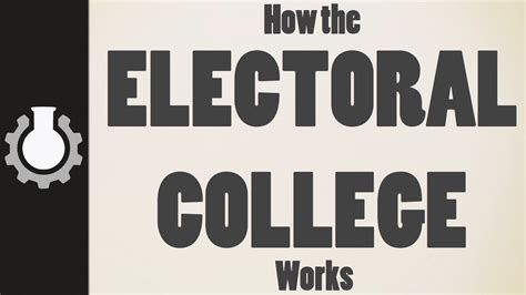 college work how the electoral college works the problems with using it