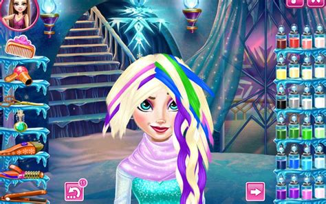 frozen haircuts games elsa frozen real haircuts