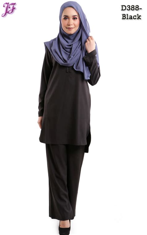 Blouse On Wardah Wardah Suit Blouse And Pant D388 Black