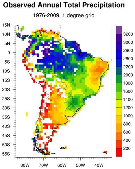 america rainfall map esrl psd psd south america precipitation
