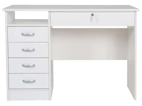 bureau chez conforama bureau 5 tiroirs 1 niche 2 vente de bureau