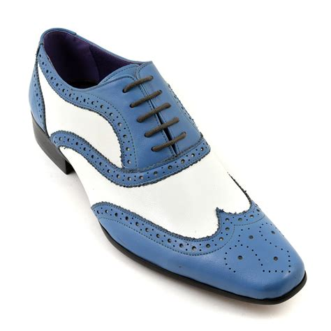 white oxford shoes mens blue and white oxford shoes 28 images bolano mens wing