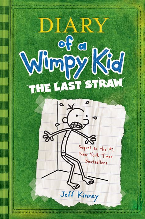 Bent for manga diary of a wimpy kid the last straw by jeff kinney