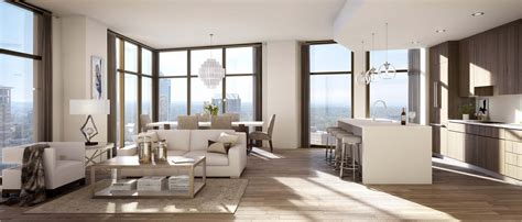 Atlanta Appartments by Luxury Atlanta Apartments With Panoramic Views At The