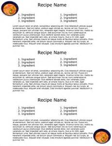 cookbook index template cookbook template 31 free psd eps indesign word pdf