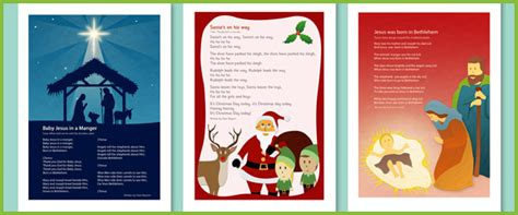 christmas nativity songs  early years primary teaching resources eyfs ks