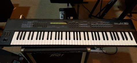Keyboard Roland Jv 90 roland jv 90 expandable synthesizer keyboard midi controller local only ebay