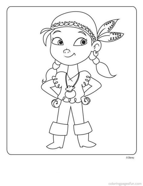jake and the neverland pirates free printable coloring