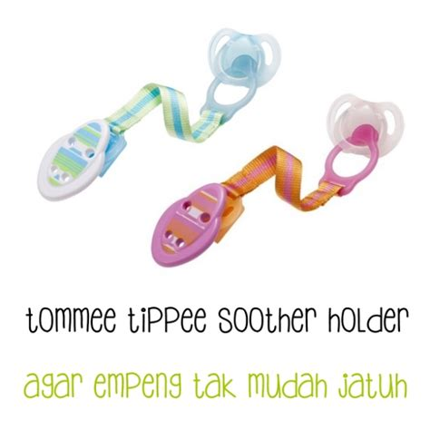 Tali Empeng tommee tippee soother holder pacifier clipper