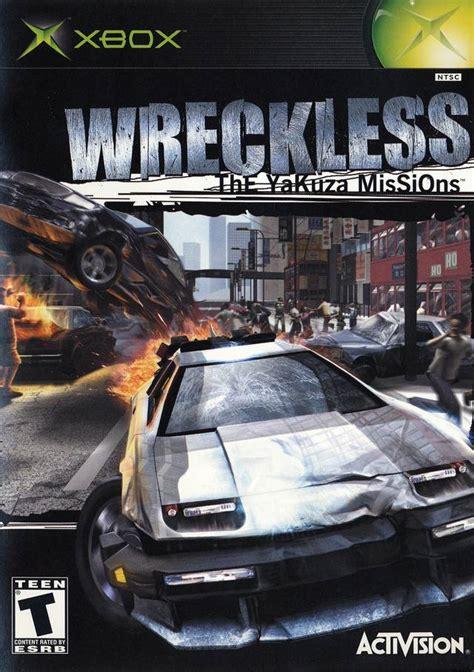 wreckless yakuza missions xbox