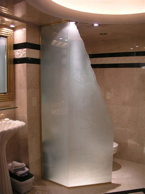 glass partition for bathroom long narrow bathroom design with glass partition and