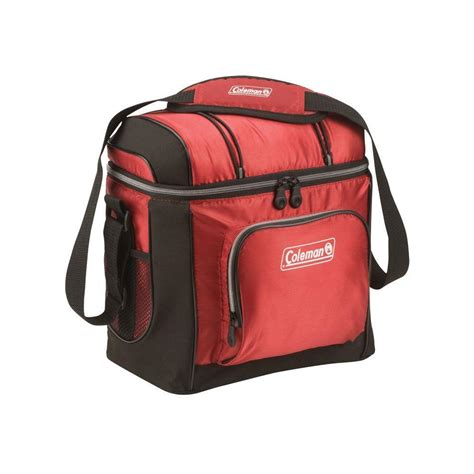 coleman go 16 can soft cooler coleman 16 can red soft sided cooler with liner 3000001315