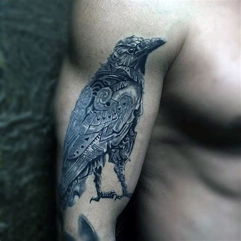 35 striking raven tattoo designs amazing tattoo ideas