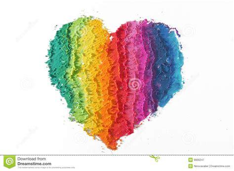 colorful pictures kleurrijk hart royalty vrije stock fotografie afbeelding