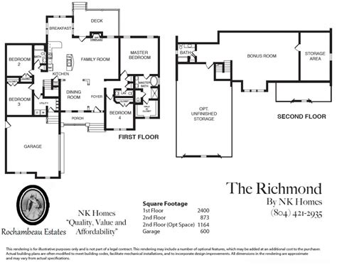 richmond floor plan richmond american homes floor plans