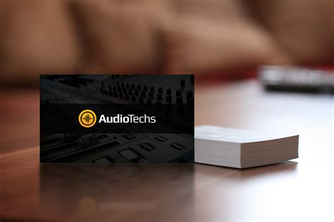 audio engineer business card template audio engineer business cards logo business card