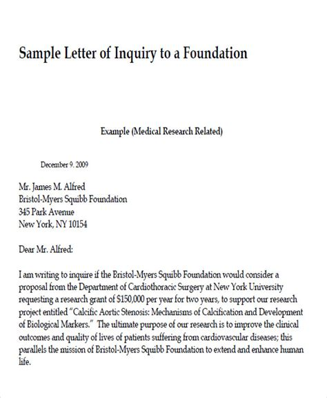 Inquiry Letter In The Philippines 33 letter format sles