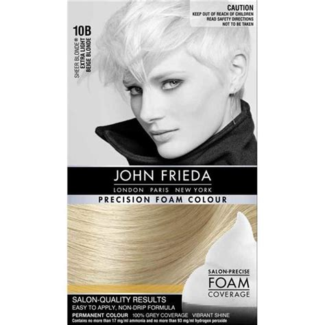 frieda 10b light beige precision foam colour hair color dye what s it worth buy frieda precision foam colour 10b light beige at chemist warehouse 174