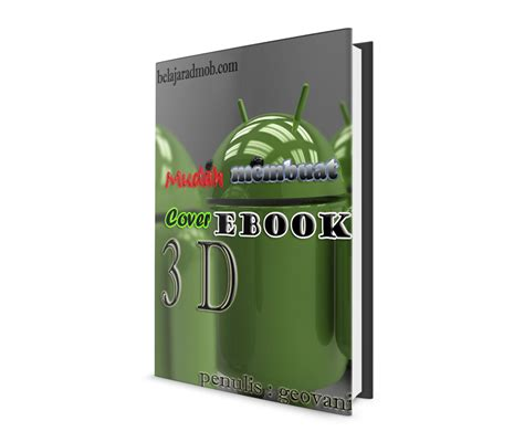 ebook membuat blog profesional membuat cover ebook 3 dimensi profesional