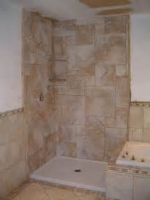 Bathroom Ceramic Tile Design Ideas by Tiling A Walk In Shower Joy Studio Design Gallery Best