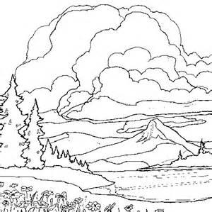 Landscape Coloring Pages Free Coloring Pages Of Landscape