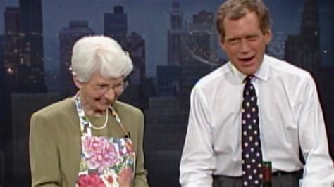 dorothy mengering david letterman honors late mother dorothy mengering we didn t want for anything because of my