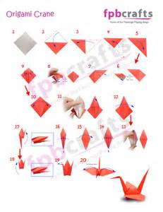 Easy Origami Crane For - splendid easy origami crane 2016