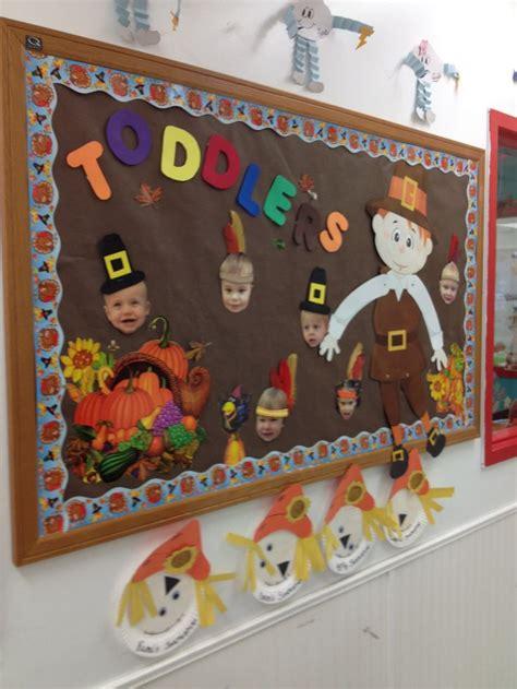 thanksgiving toddler room bulletin board toddler room