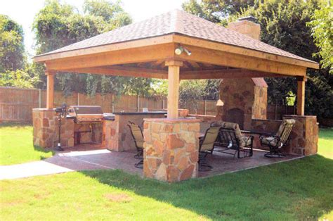 Backyard Structure Ideas Outdoor Patio Cover Ideas
